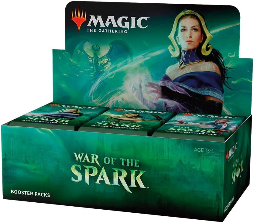Magic: The Gathering War of The Spark Booster Box   36 Booster Packs   Planeswalker in Every Pack