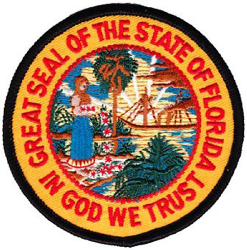 Florida - 3 in Round State Seal Patch ()