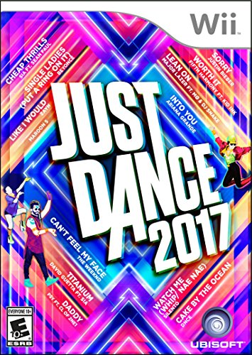 Just Dance 2017 - Wii (Best Games Console For 7 Year Old 2015)