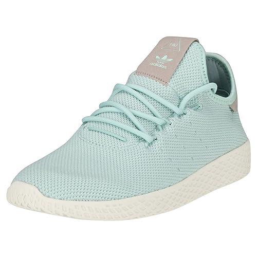 500a00bd Adidas PW Tennis HU W Calzado Ash Green: Amazon.es: Zapatos y complementos