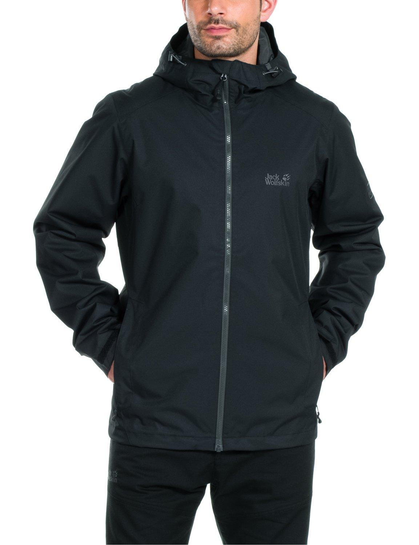 Jack Wolfskin Men's Chilly Morning Jacket, XX-Large, Black