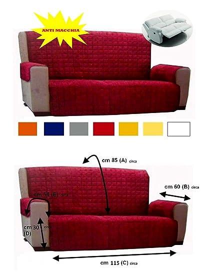 Amazon copridivano trendy copridivano posti elastico per divani senza braccioli varianti blu - Copridivano amazon ...