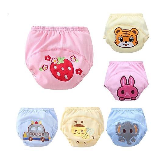 11 opinioni per CuteOn 6 Pacchetto Pantaloni della Ragazza del Neonato Pee Potty Training