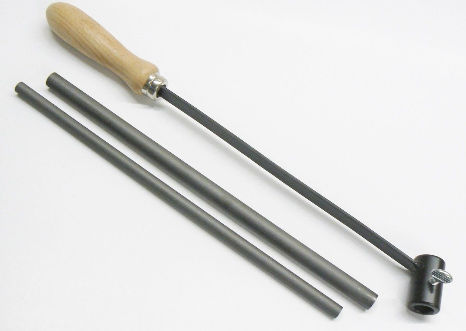 Graphite Stirring RODS with Holder Mix MELT & STIR Molten Metal 2 RODS & Handle (LZ 1 PM 18x3x3) by NOVEL