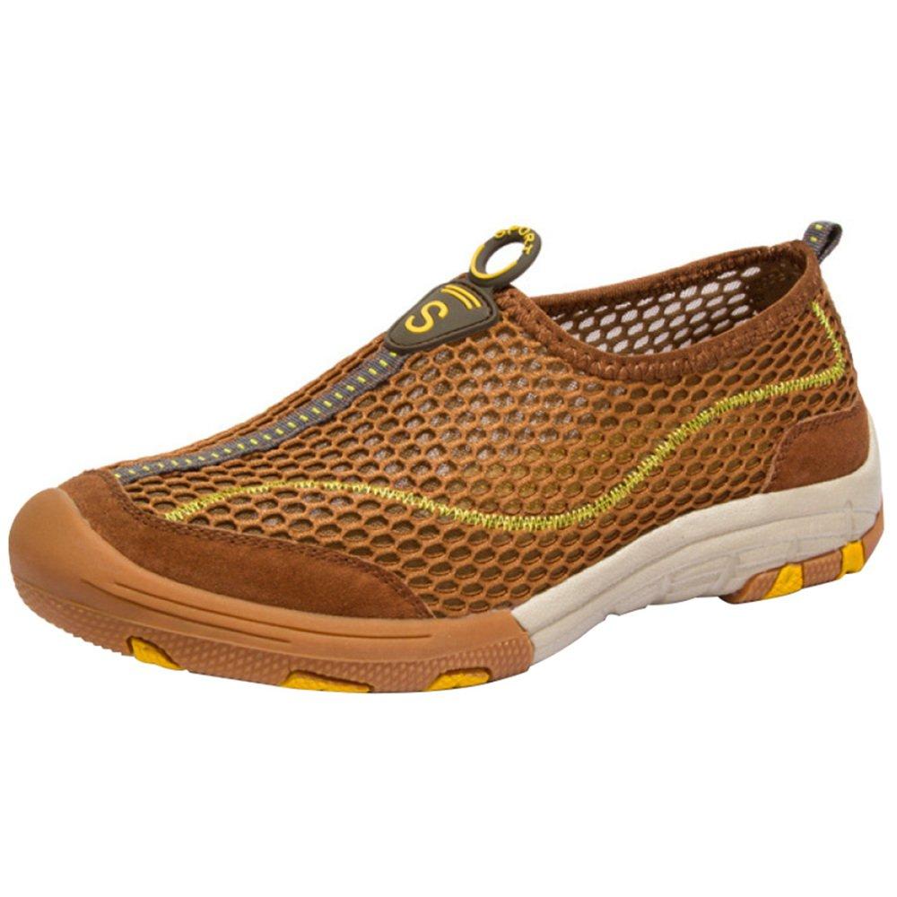 Männer Leichte Freizeitschuhe Faule Schuhe Mesh Atmungsaktive Bequeme Schuhe Sommer Sandalen Schnell Trocknende Wasser Schuhe
