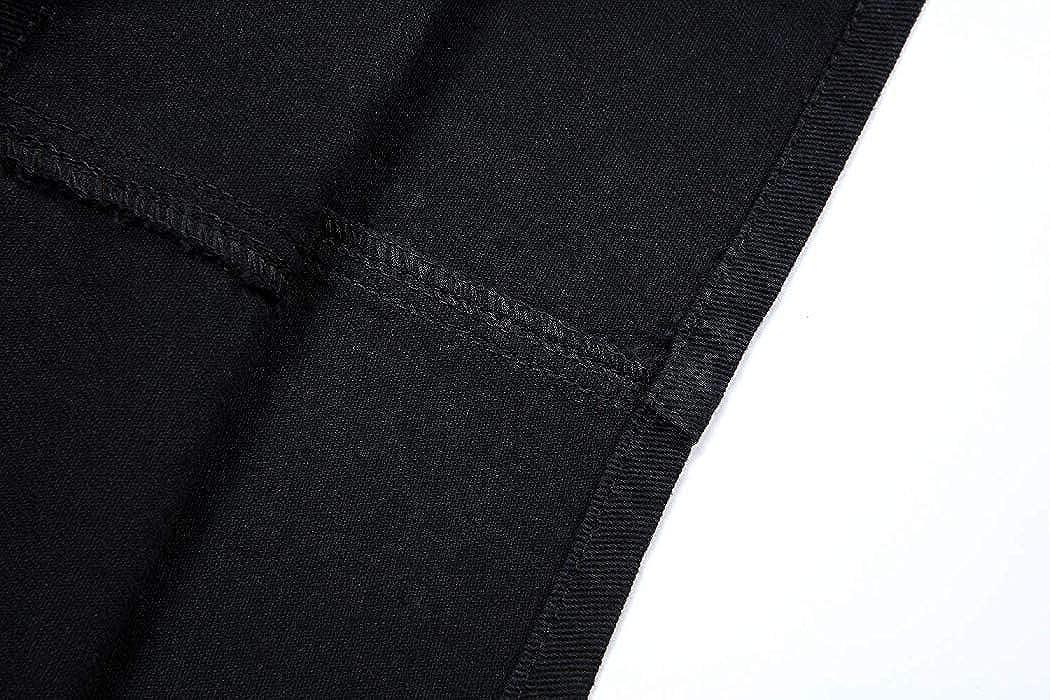 Duo Bao Yu Womens Denim Overalls Dress Juniors Bib Skirt Adjustable Cute A-line Jean Skirtall