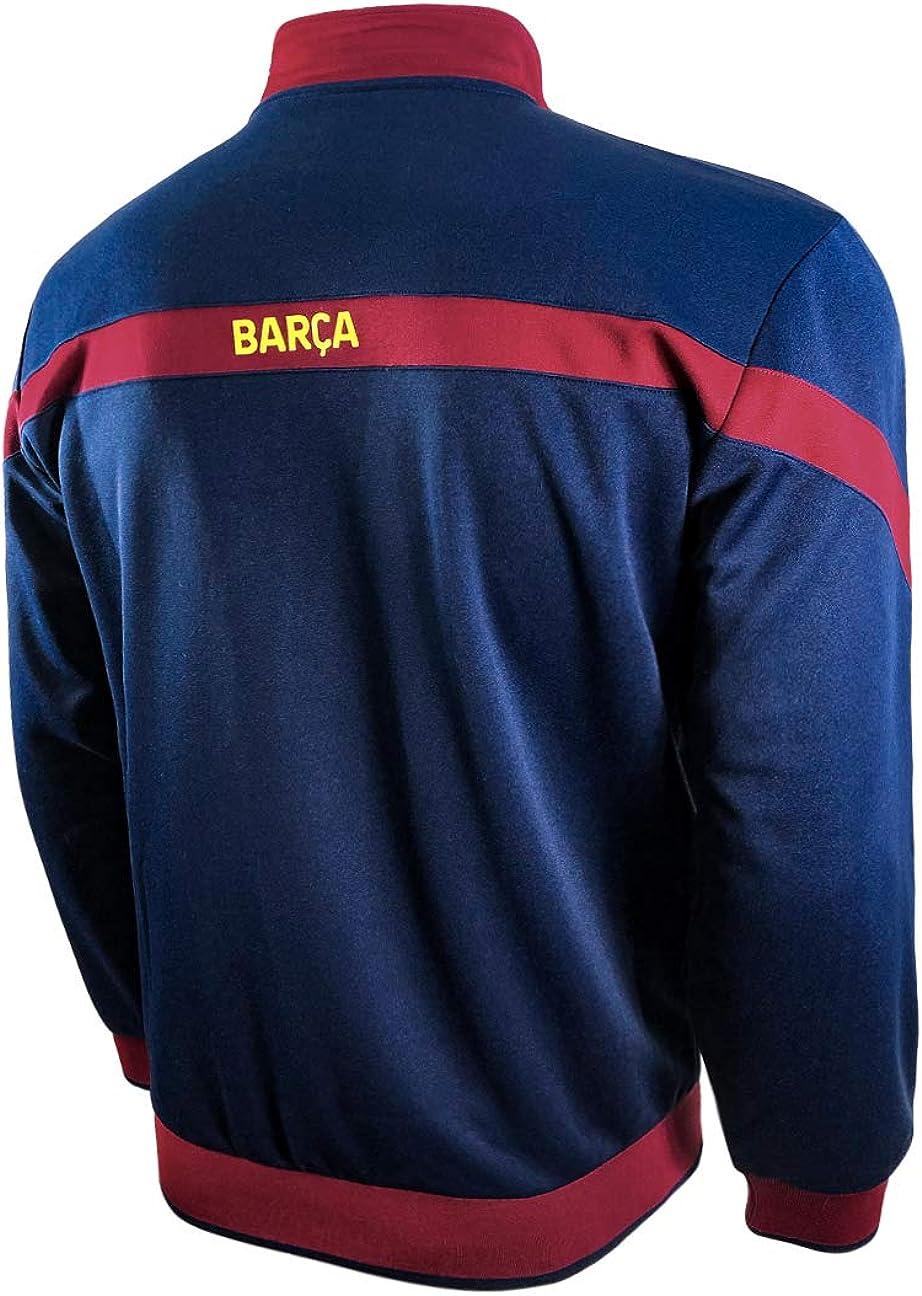 Icon Sports FC Barcelona Full-Zip Bar/ça Track Jacket Youth Medium, Blue