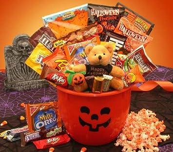 halloween tricks and treats halloween candy gift basket