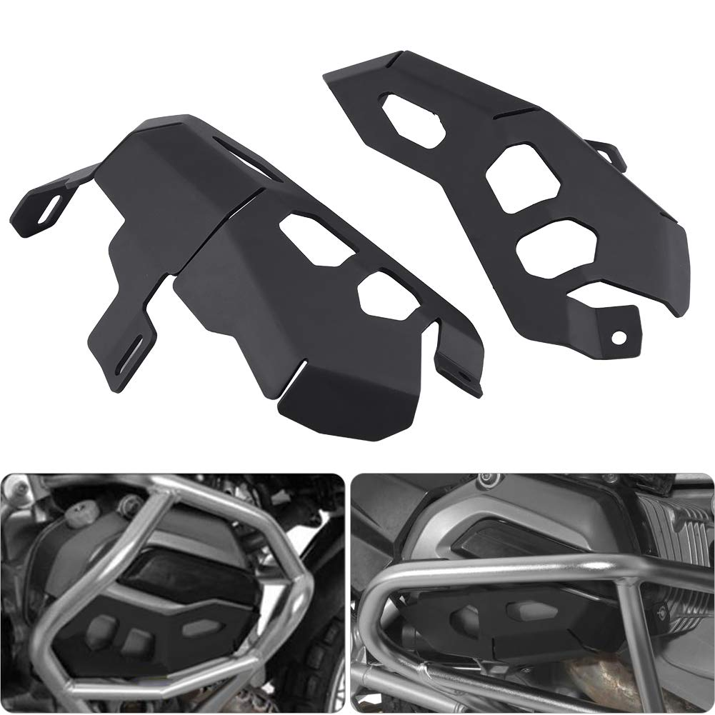 EBTOOLS Motorcycle Cylinder Head Cover,Engine Cylinder Head Guards Protector Cover for R1200GS LC 2013-2017