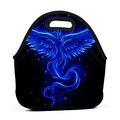 Amazon.com: Fashion.Reborn Neoprene Lunch Bags,Cool Blue ...