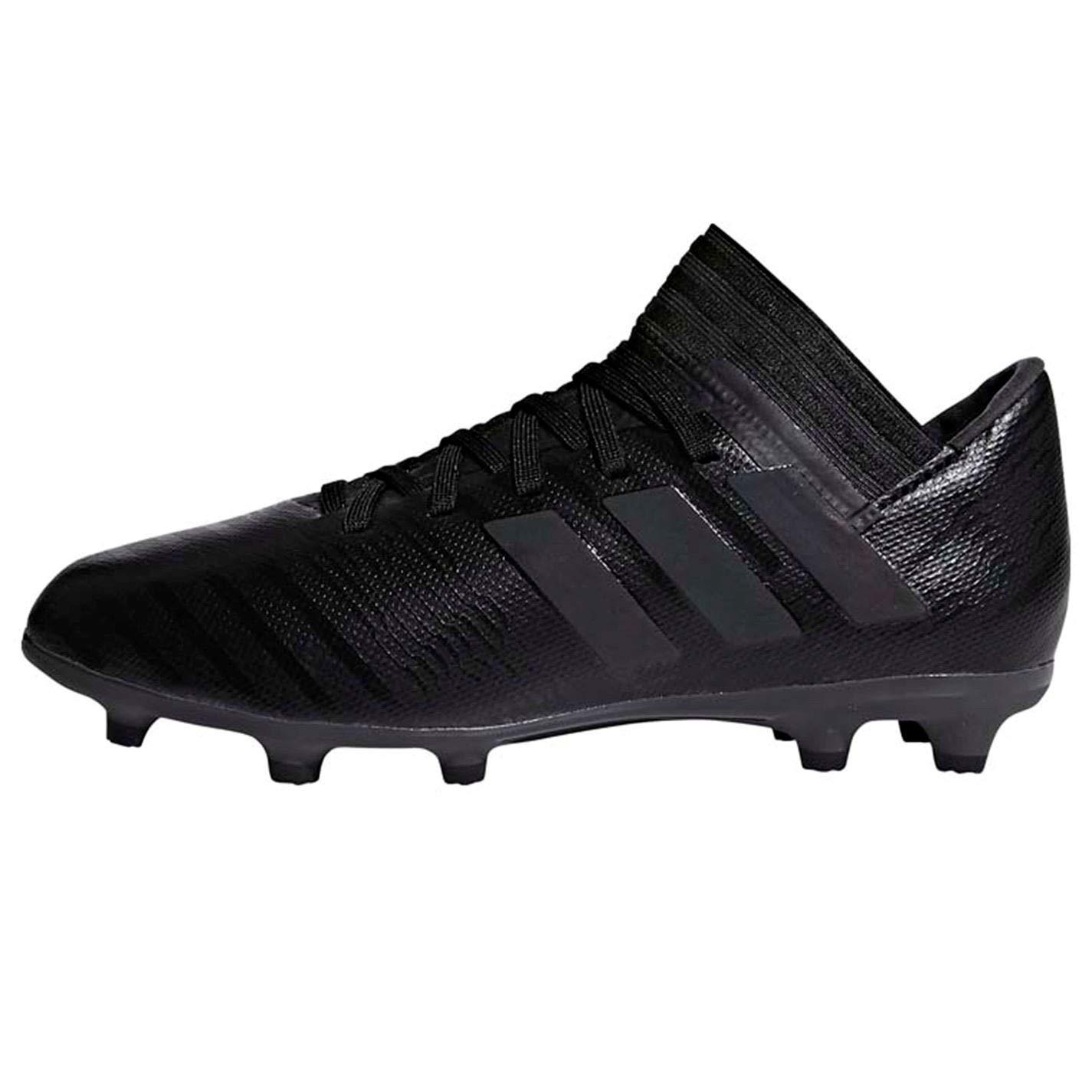 Noir (Cnoir Cnoir Hiregr Cnoir Cnoir Hiregr) adidas Nemeziz 17.3 FG J, Chaussures de Football garçon 31 EU