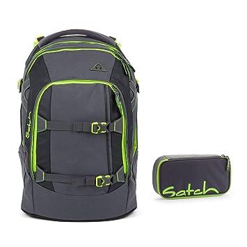 498e7373188a2 Satch Schulrucksack-Set 2-TLG Pack Phantom grau  Amazon.de  Koffer ...
