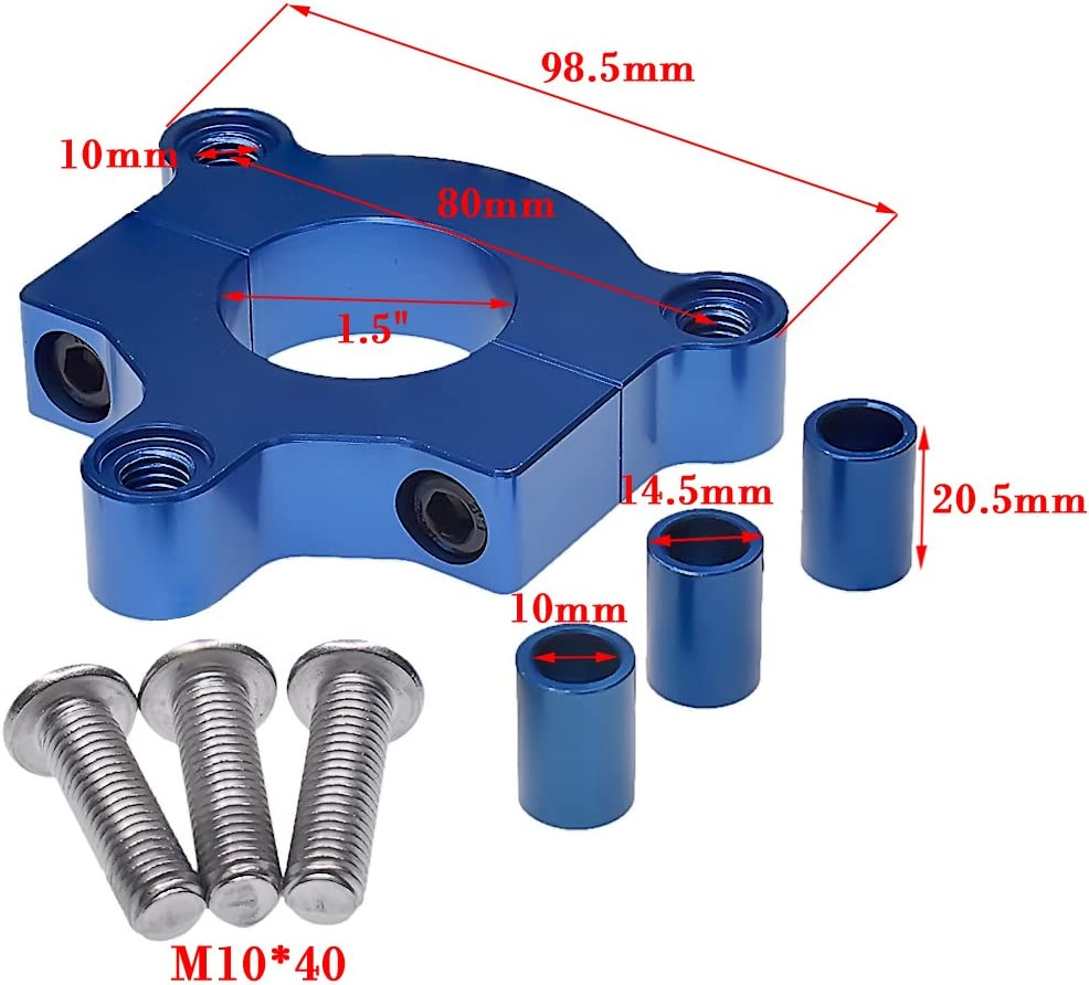 JRL CNC 36T Sprocket Assembly Cylinder Head Cover Kit For 82cc Motorized Bike