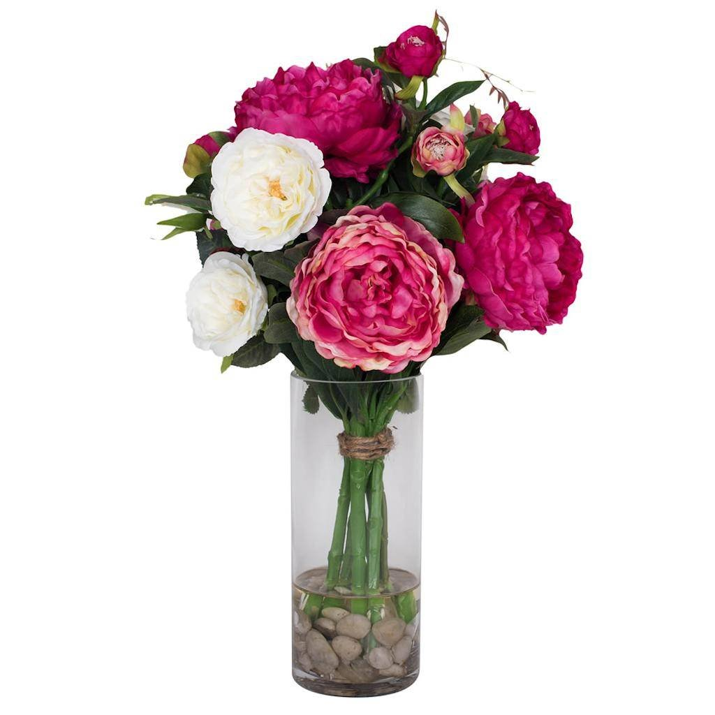 Vickerman F12208 Pink Peony Everyday Floral