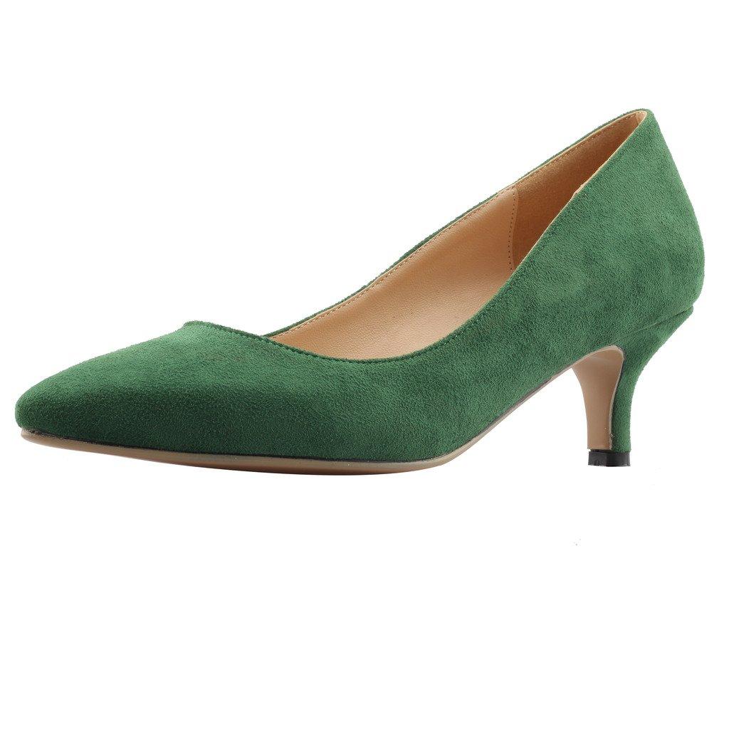 Calaier  Pumps, Cahalfway, Damen Pumps,  grün - grün - Größe: EU 41,5 - ecfc9a