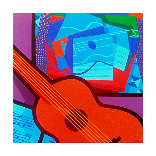 Trademark Fine Art Homage To Juan Gris By John Nolan Fine Art  35  X 35   Multicolor