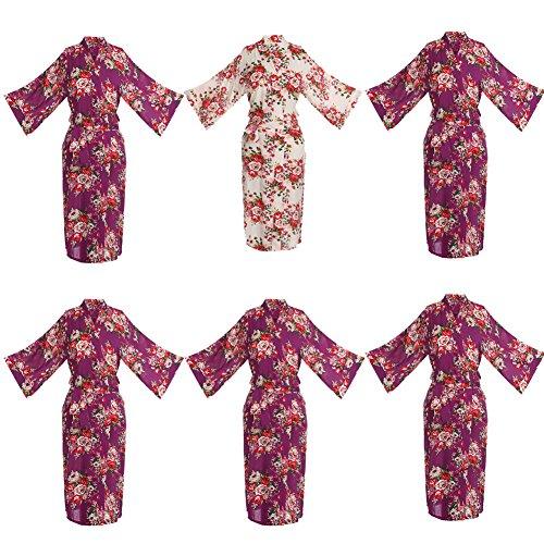 oriental silk dressing gown - 8