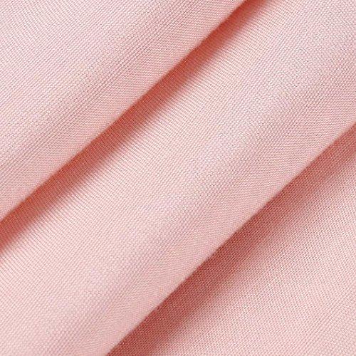 Moda Encaje elegante Camisetas mangas Casual Camisetas Cuello Elegante mangas Mujer mangas sin Camiseta sin redondo Sin Secci Adeshop Empalme d8pTqd