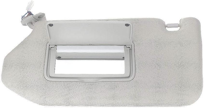 Left /& Right Sun Visor w// Lamp For 2013-2018 Pathfinder 2014-17 Infiniti QX60