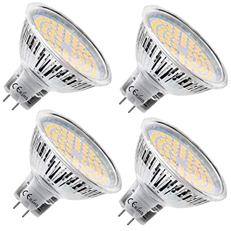 Bombillas LED MR11 de 2 W, 12 V, 20 W, equivalente a bombilla