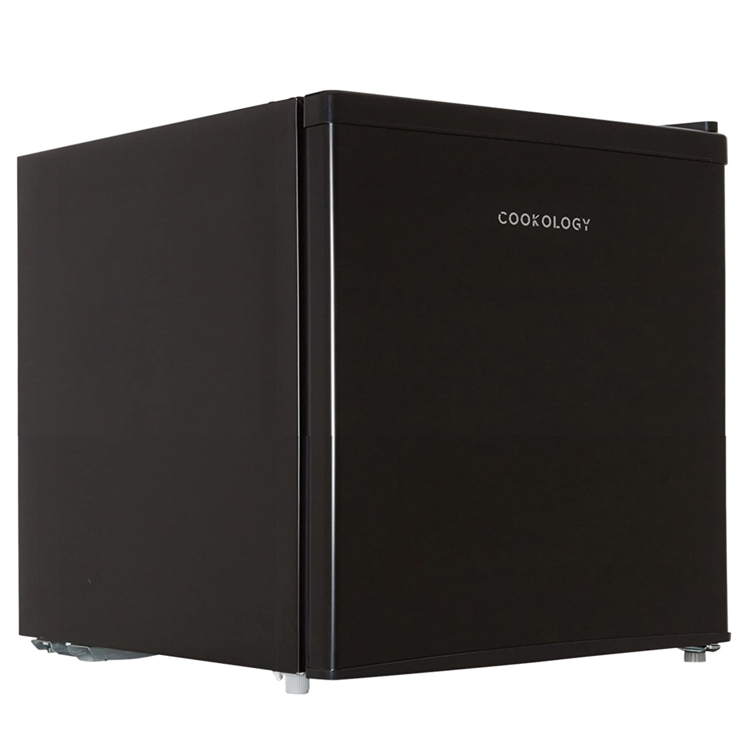 Cookology Table Top Mini Fridge in Black, A+ Rated, 46 Litre Refrigerator with Ice Box | Fast Delivery Service [Energy Class A+] MFR45BK
