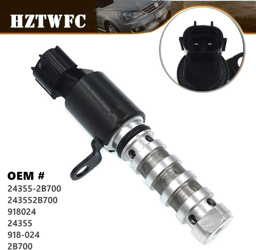 1 PCS GzYcsFocusqp Oil Control VVT Valve Variable Timing Solenoid Compatible for Hyundai Elantra XD Kia Motor Soul 24355-2B000