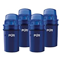PUR Water Pitcher Replacement Filter, 4 Pack (Faster Pour)