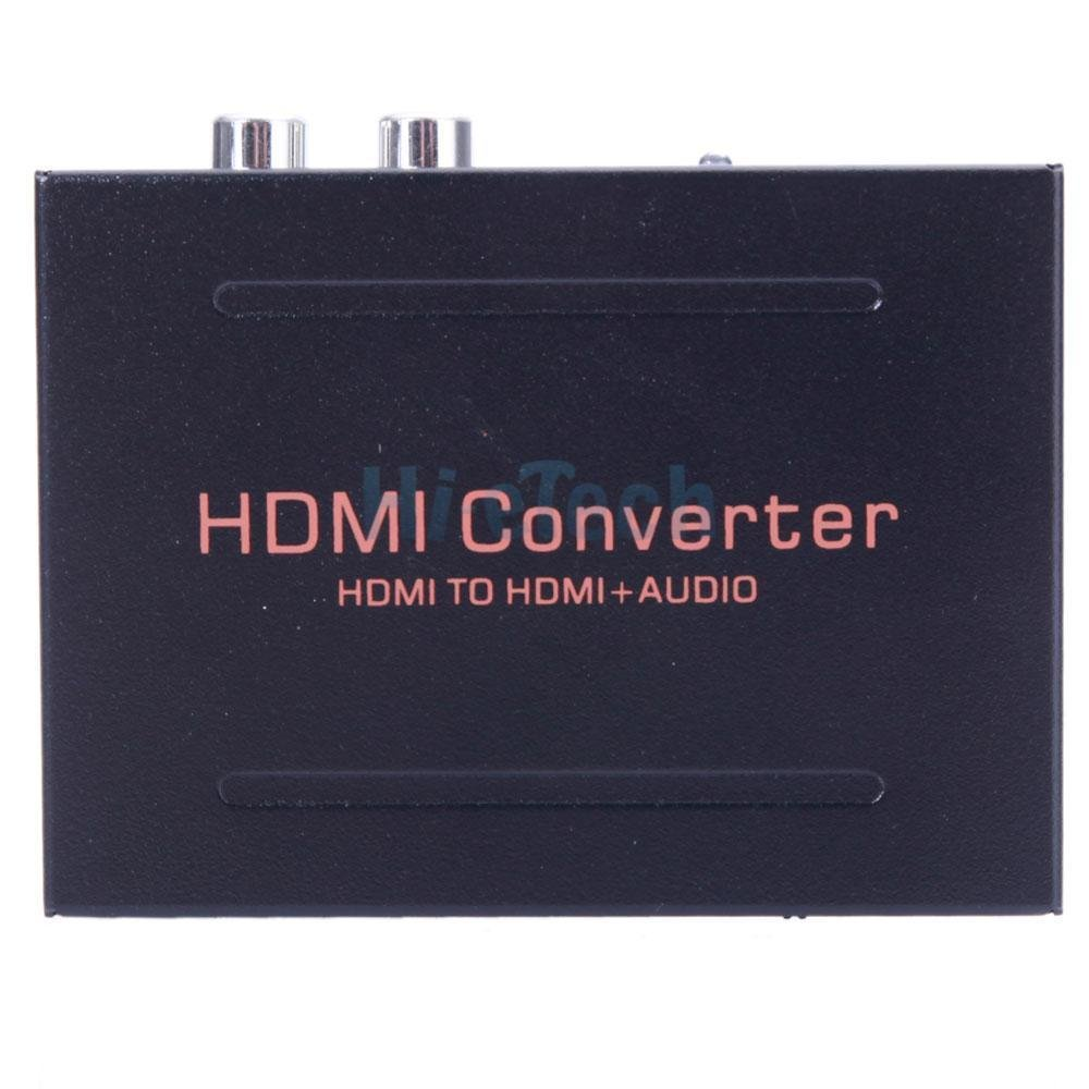 simply silver - 1080P HDMI to HDMI + Audio SPDIF L/R Extractor Adapter for Google Chromecast US by Simply Silver (Image #2)