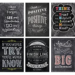 Creative Teaching Press Inspire U Chalk Posters 6-Pack (7425)