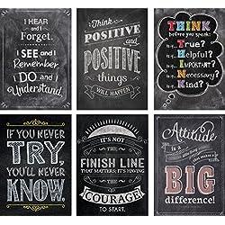 Creative Teaching Press Inspire U Chalk Posters 6-Pack (7425)