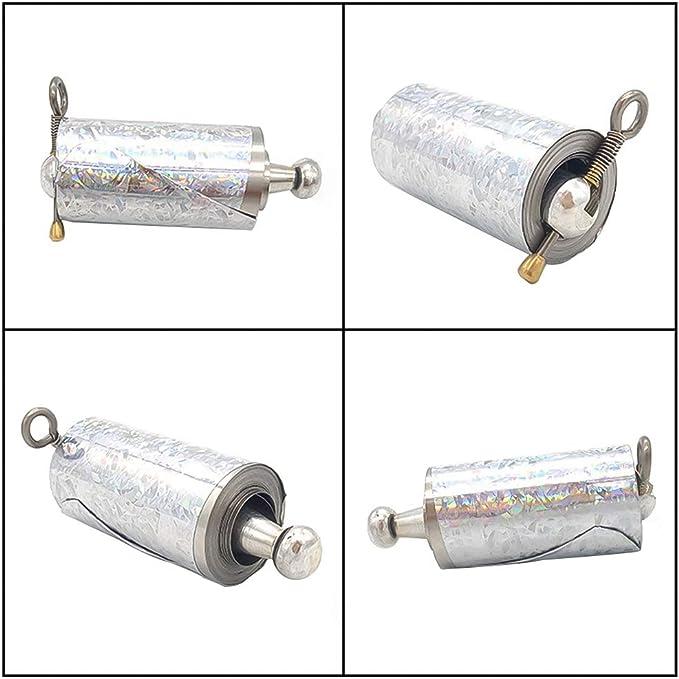 Tragbarer einziehbarer Magic Metallstab Metall Knüppel Selbstverteidigung Stick