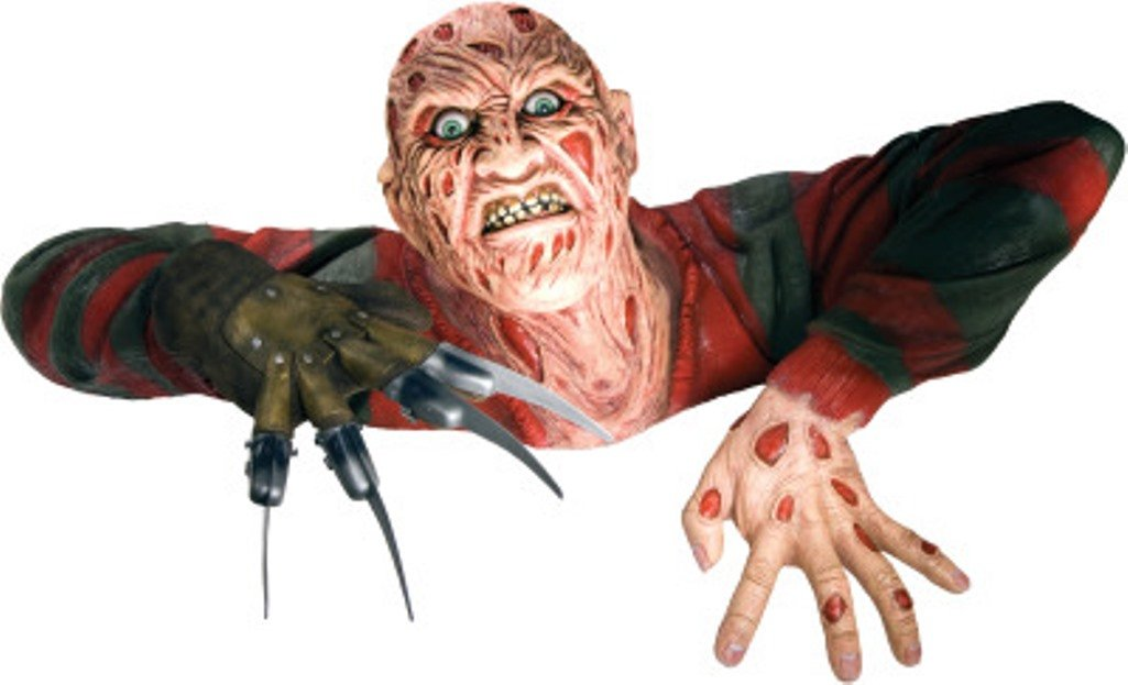 amazoncom rubies 68366 the 13th friday freddy krueger grave walker decoration toys games - Freddy Krueger Halloween Decorations