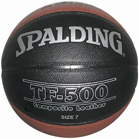 Spalding LNB TF 500 Indoor Ballon de Basketball Mixte Adulte Noir ...