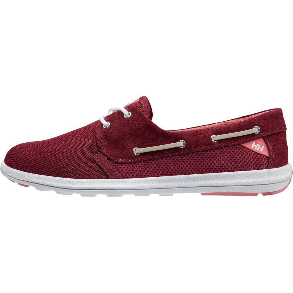 Helly Hansen Women's W Lillesand Fashion Sneaker B073RNYS9P 6.5 D(M) US|Persian Red/Plum/Shel