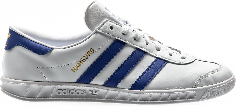Adidas originals hamburg baskets basses whitebold blue