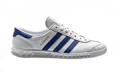 best sneakers 195e0 91339 adidas Originals Hamburg, Baskets Basses Homme, Blanc (FtwblaAzufueDormet)