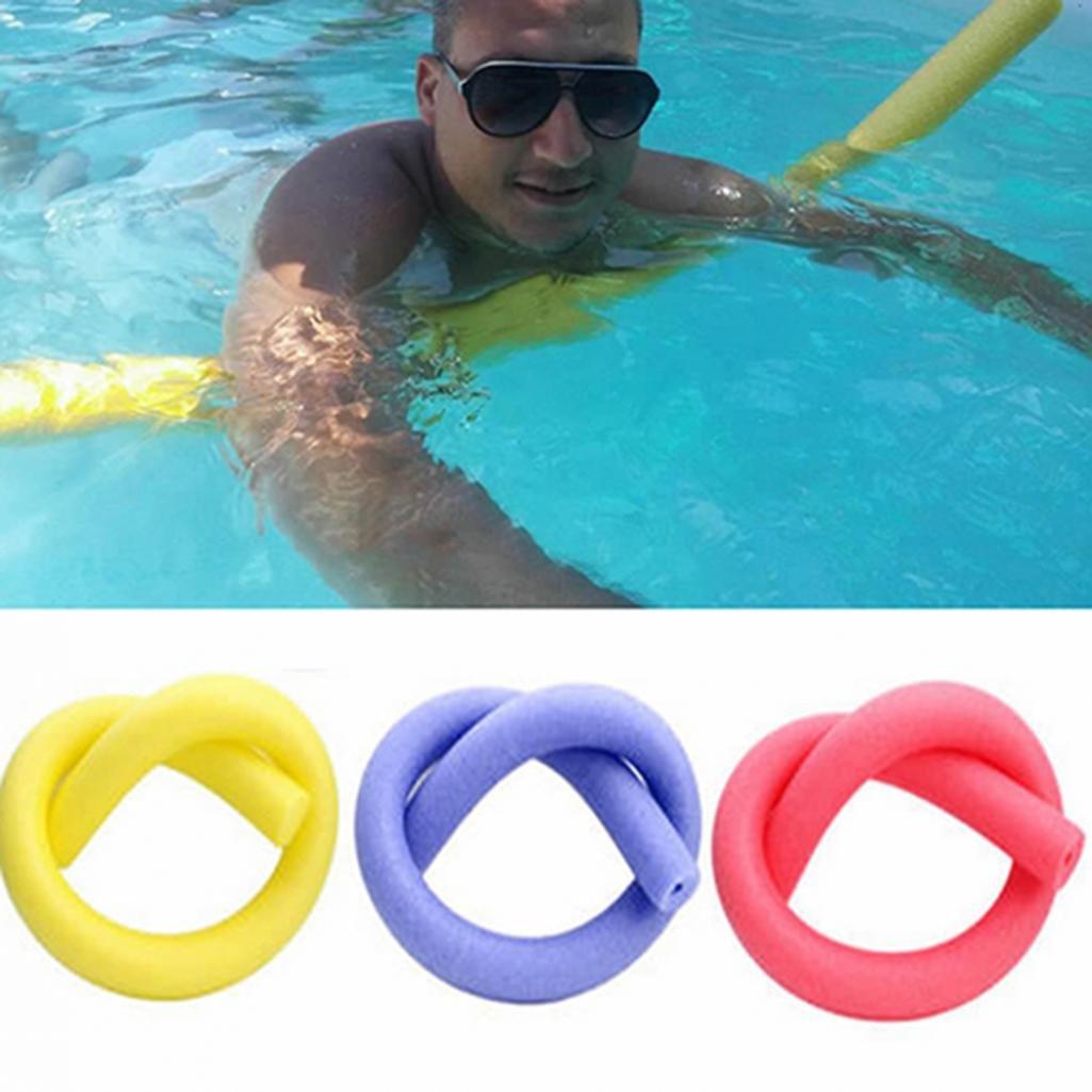geshiglobal Flexible Fun Piscina Espuma Agua Hueca Fideos niños Adultos Flotador Ayuda para Nadar, Rojo: Amazon.es: Deportes y aire libre