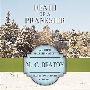 Death of a Prankster Audiobook