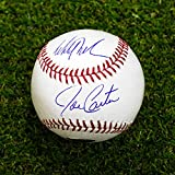 Joe Carter & Mitch Williams Autographed Official 1993 World Series MLB Baseball