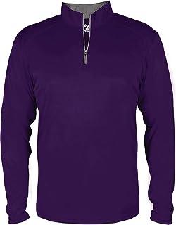 70fb1ab17c5 Badger B-Core Quarter-Zip Pullover - 4102 at Amazon Men s Clothing ...