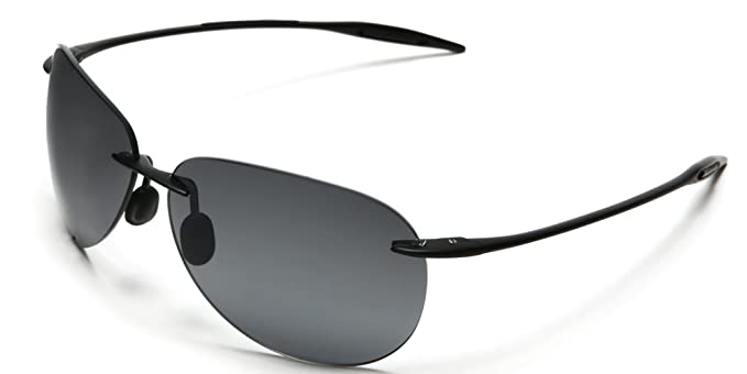 3b4913349204 Samba Shades Light-Weigh Unbreakable TR90 Frame Aviator Sunglasses with  Black Frame