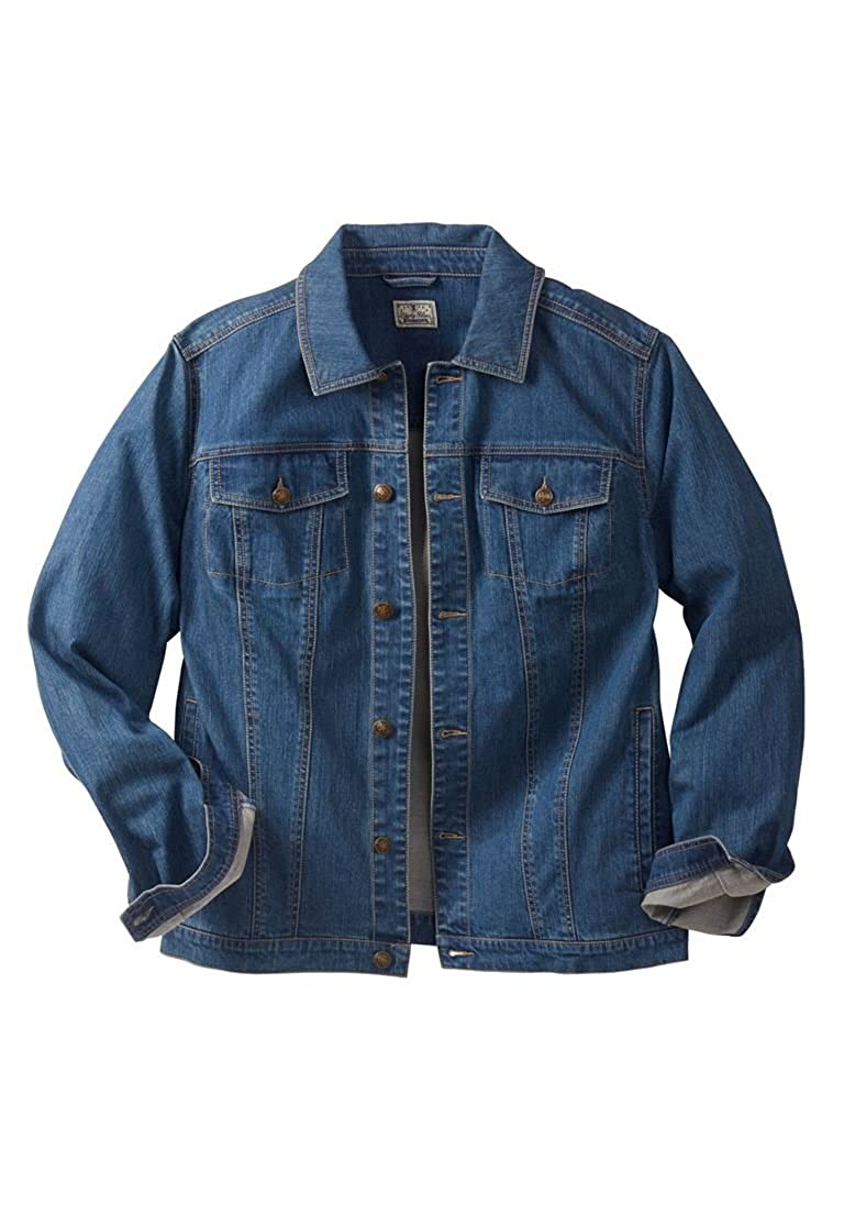 Liberty Blues Men's Big & Tall Denim Jacket