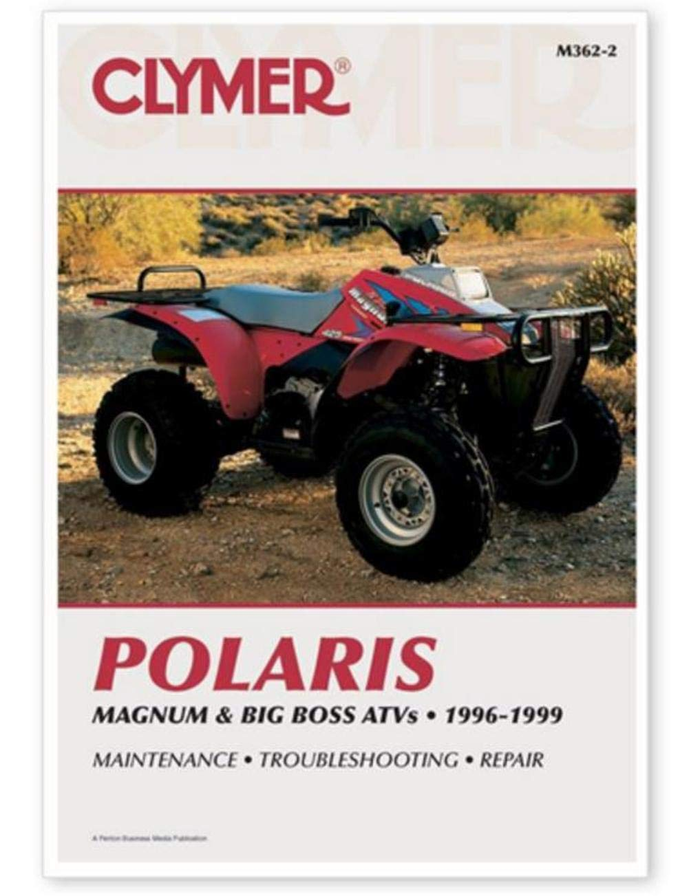 Amazon.com: Clymer Repair Manual for Polaris ATV Magnum Big Boss 96-99:  Automotive