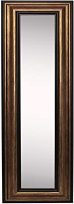 "Rayne Mirrors American Made Home Decorative Accent Canyon Bronze Wall Mirror Panel - 9.5""W x 21.5""H"