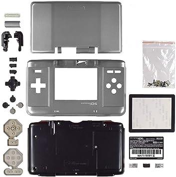 Carcasa de Repuesto para Consola Nintendo DS NDS Plata ...