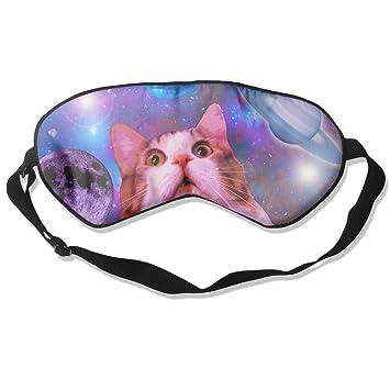Antifaz para dormir con diseño de gato para viajar, noche ...