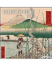 Hiroshige 2022 - Wand-Kalender - Broschüren-Kalender - 30x30 - 30x60 geöffnet - Kunst-Kalender