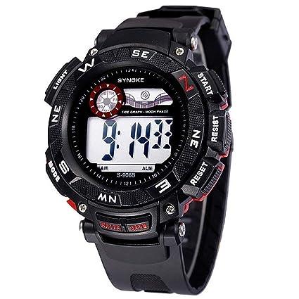 JBP Max Mens Deportes Impermeable Reloj Multi-Función Reloj Digital Hombres Reloj De La Personalidad