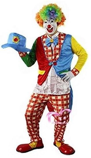 Amazon.com: Disfraz. Ze payaso soporte Out (ropa pantalones ...