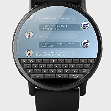 ZHAOHAONB Reloj Inteligente 4G Smart Watch Android 7.1 con GPS Sim ...